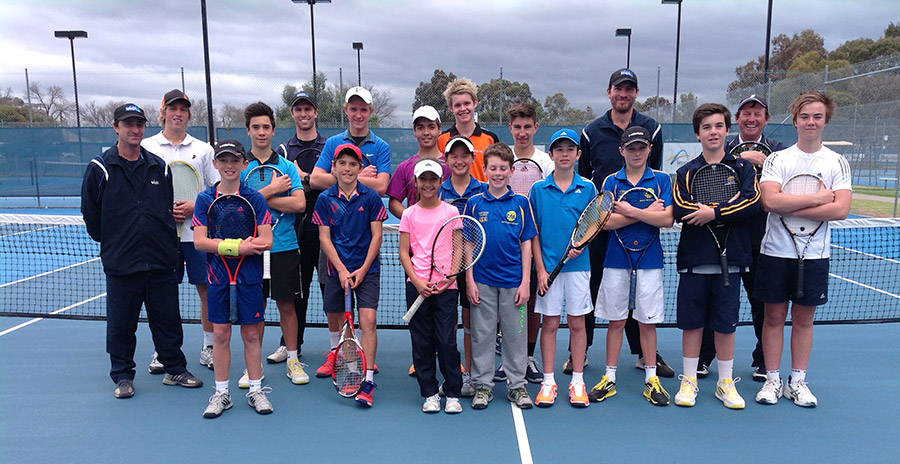 Vida Tennis Academy Visits The Bendigo Tennis Academy