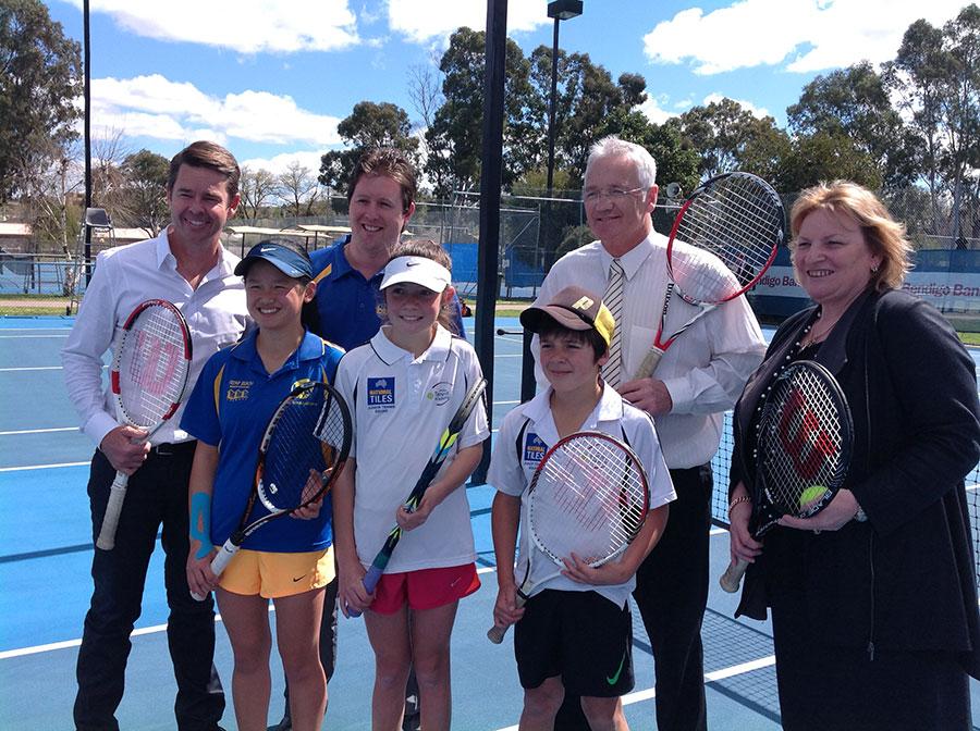 damian_drum_bendigo_tennis_complex_opening
