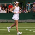 Jessica Moore Playing At Wimbledon (2)