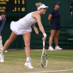 Jessica Moore Playing At Wimbledon (4)