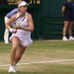 Jessica Moore Playing At Wimbledon (5)