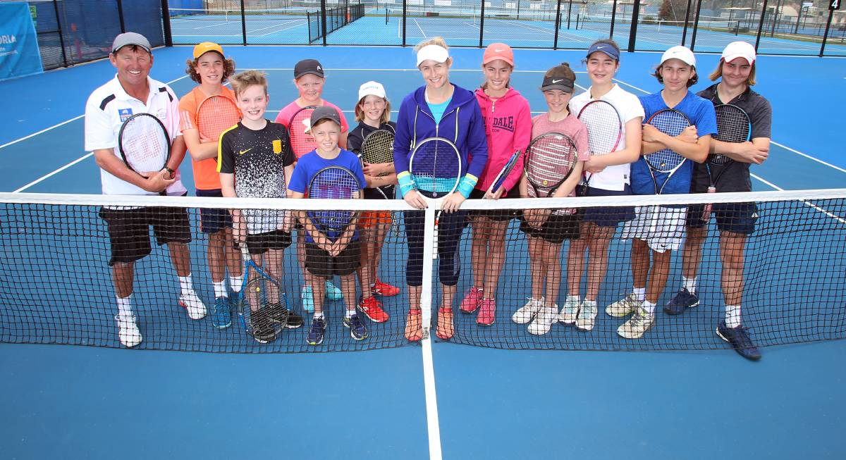 Jessica Moore Gets Back To The Grassroots Of Tennis With A Series Of Masterclasses In Bendigo
