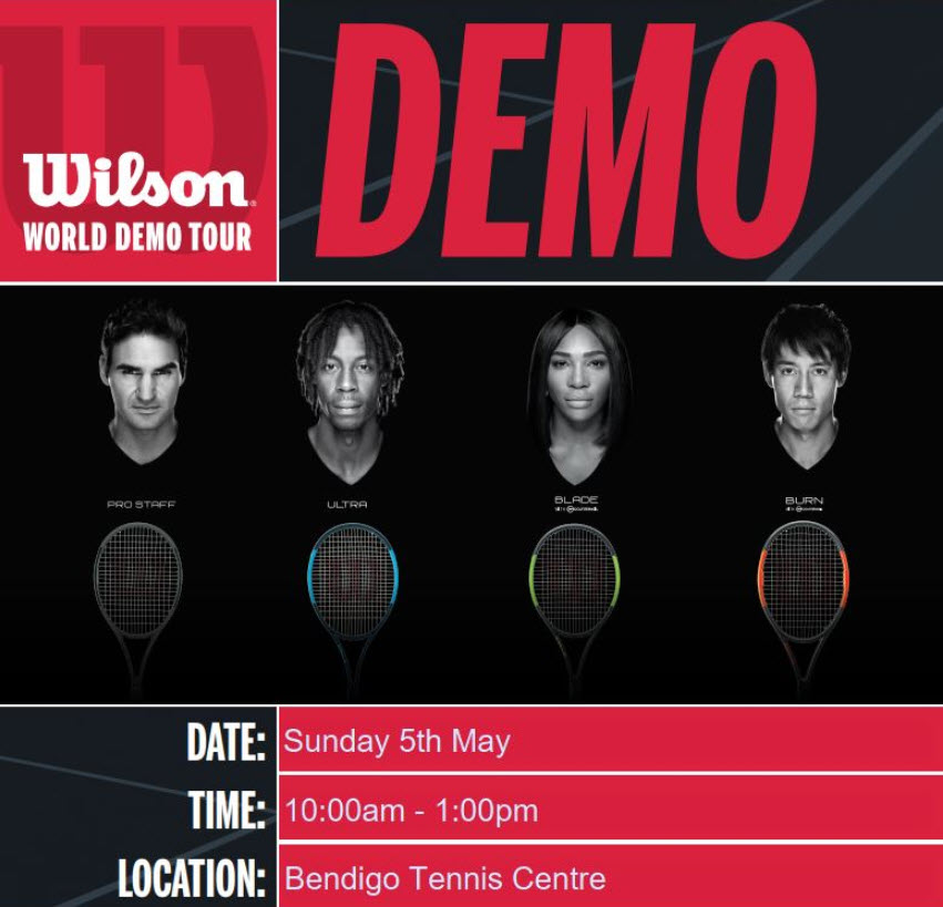 Wilson World Demo Tour